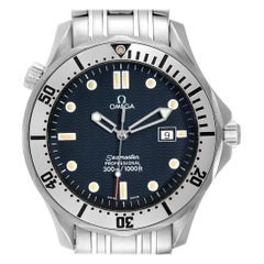 Omega Seamaster Blue Wave Dial Men's Watch 2542.80.00