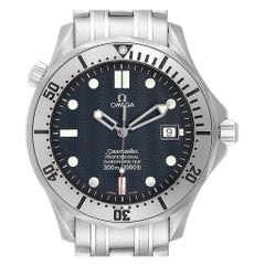 Omega Seamaster Blue Wave Dial Steel Men's Watch 2532.80.00