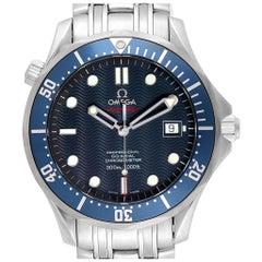 Omega Seamaster Bond 300M Co-Axial Watch 2220.80.00 Box Card