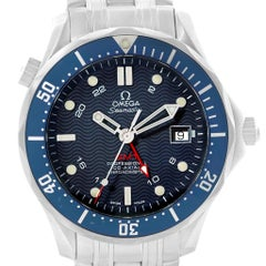 Omega Seamaster Bond 300M GMT Blue Dial Co-Axial Watch 2535.80.00