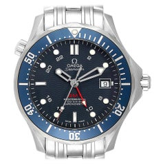 Omega Seamaster Bond 300M GMT Blue Dial Steel Men's Watch 2535.80.00