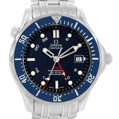 Omega Seamaster Bond 300M GMT Co-Axial Men's Watch 2535.80.00 Box Card