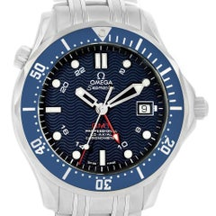 Omega Seamaster Bond 300M GMT Steel Watch 2535.80.00 Box Cards