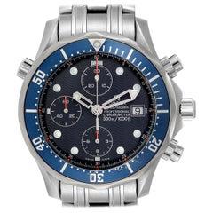 Omega Seamaster Bond Chrono Blue Wave Dial Men's Watch 2599.80.00