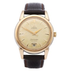Omega Seamaster Calendar 1342 Men's Gold-Plated Watch