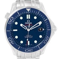 Omega Seamaster Ceramic Bezel Watch 212.30.41.20.03.001 Unworn