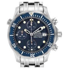 Omega Seamaster Chrono Diver Blue Dial Titanium Men's Watch 2298.80.00