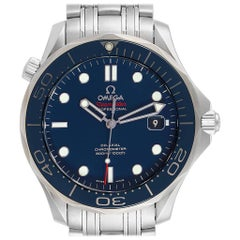 Omega Seamaster Co-Axial Blue Dial Men's Watch 212.30.41.20.03.001