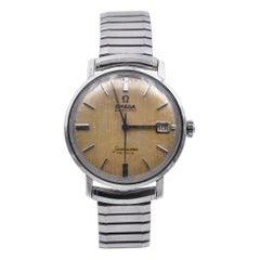 Omega Seamaster De Ville Stainless Steel Watch