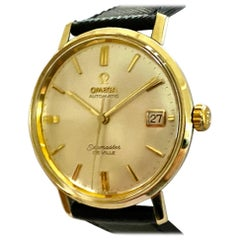 Omega Seamaster de Ville Steel/Gold-Plated Automatic Watch 1964, CD 166.020