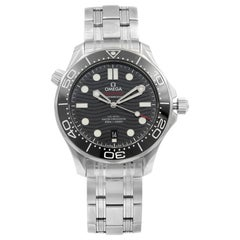 Omega Seamaster Diver 300 Antimagnetic Black Dial Mens Watch 210.30.42.20.01.001