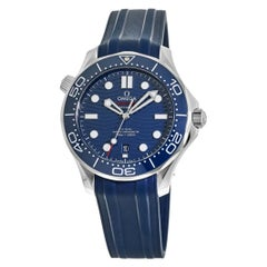 Omega Seamaster Diver 300M Blue Dial Automatic Watch 210.32.42.20.03.001