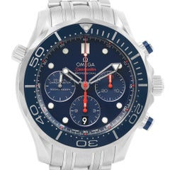 Omega Seamaster Diver 300M Watch 212.30.44.50.03.001 Box Card