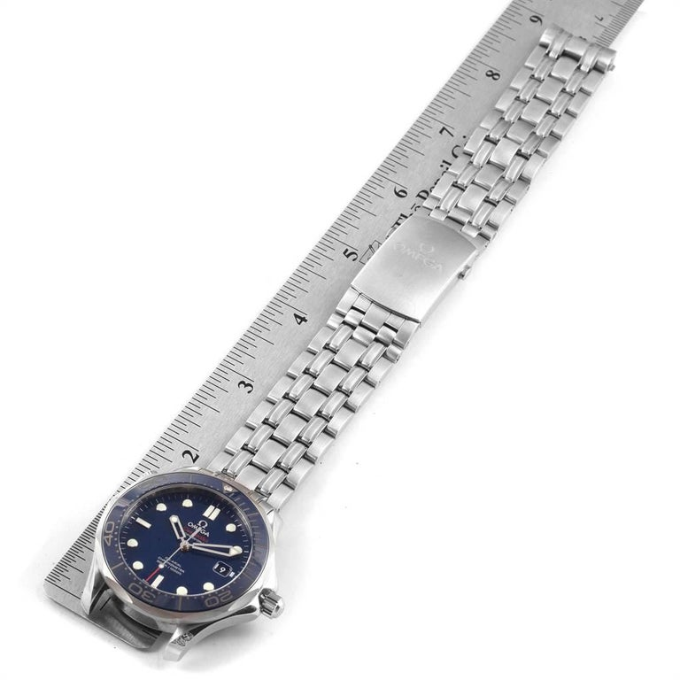 Omega Seamaster Diver Co-Axial Men's Watch 212.30.41.20.03.001 Box Card For Sale 6