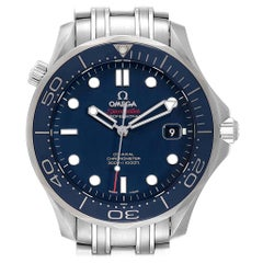 Omega Seamaster Diver Co-Axial Men's Watch 212.30.41.20.03.001 Box Card