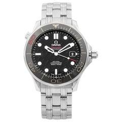 Omega Seamaster Diver James Bond Steel Black Dial Mens Watch 212.30.41.20.01.005
