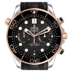 Omega Seamaster Diver Master Chronometer Watch 210.22.44.51.01.001 Box Card