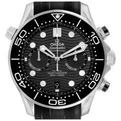 Omega Seamaster Diver Master Chronometer Watch 210.32.44.51.01.001 Box Card