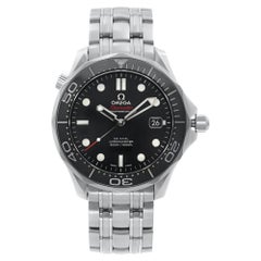 Omega Seamaster Diver Steel Black Dial Automatic Watch 212.30.41.20.01.003