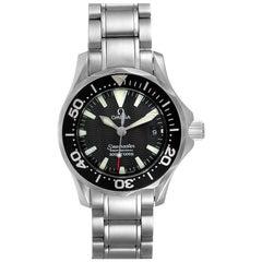 Omega Seamaster Diver Steel Ladies Watch 2284.50.00 Box Card