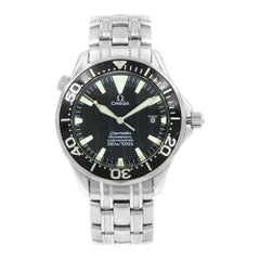 Omega Seamaster Divers 300m Black Dial Steel Automatic Men's Watch 2254.50.00