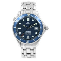 Omega Seamaster Divers Blue Wave Dial Steel Automatic Men's Watch 2531.80.00