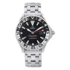 Omega Seamaster GMT 50th Anniversary Steel Black Dial Men's Watch 2234.50.00
