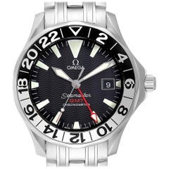 Omega Seamaster GMT 50th Anniversary Steel Men's Watch 2234.50.00 Card
