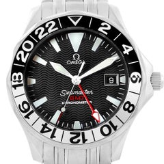 Omega Seamaster GMT 50th Anniversary Steel Men's Watch 2234.50.00