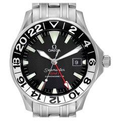 Omega Seamaster GMT 50th Anniversary Steel Men's Watch 2534.50.00