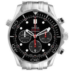 Omega Seamaster James Bond 007 Steel Watch 212.30.44.50.01.001 Box Card