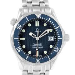 Omega Seamaster James Bond 36 Midsize Blue Wave Dial Watch 2561.80.00