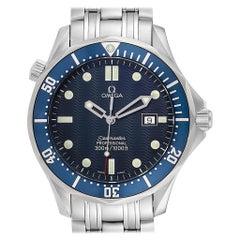 Omega Seamaster James Bond Blue Dial Steel Watch 2541.80.00