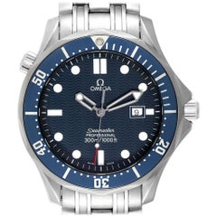 Omega Seamaster James Bond Blue Dial Steel Watch 2541.80.00
