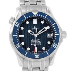 Omega Seamaster Midsize 36 Blue Dial Automatic Steel Watch 2551.80.00