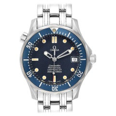 Omega Seamaster Midsize Blue Dial Steel Men's Watch 2551.80.00 Card