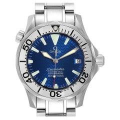 Omega Seamaster Midsize Blue Wave Dial Steel Men's Watch 2553.80.00
