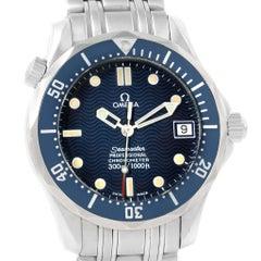Omega Seamaster Midsize Blue Wave Dial Unisex Watch 2551.80.00