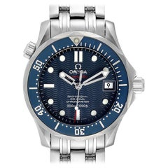 Omega Seamaster Midsize Co-Axial Blue Dial Watch 2222.80.00
