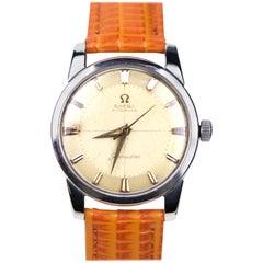 Omega Seamaster, Leather Band Vintage