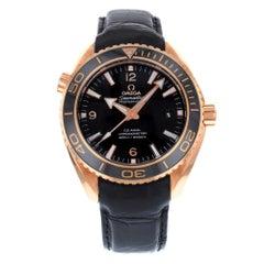 Omega Seamaster Planet Ocean 18 Karat Rose Gold Men's Watch 232.63.46.21.01.001