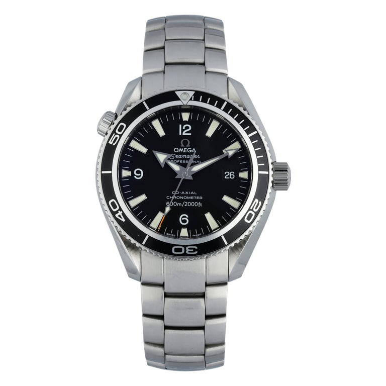 Omega Seamaster Planet Ocean 2201.50.00 Men's Watch Papers For Sale