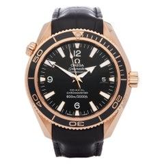 Omega Seamaster Planet Ocean 232.63.42.21.01.001 Men's Rose Gold 600m Watch