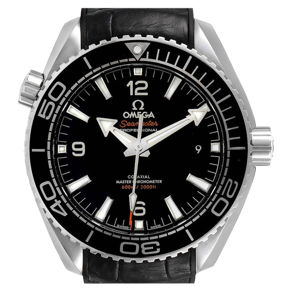Omega Seamaster Planet Ocean 600m Men's Watch 215.33.44.21.01.001 Box Card