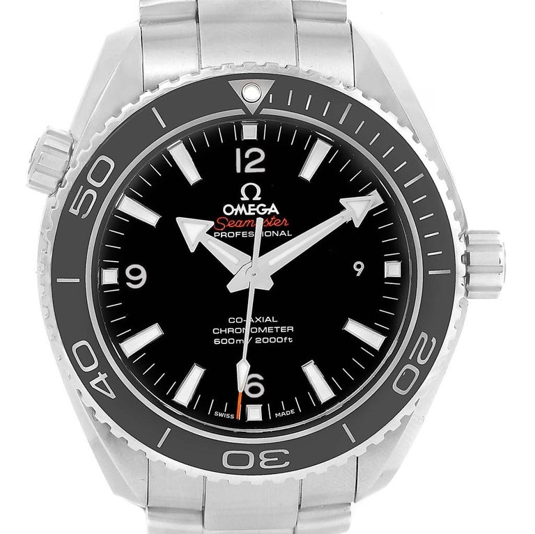 0d33555614316 Omega Seamaster Planet Ocean 600M Watch 232.30.46.21.01.001 Box Card In  Excellent Condition