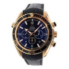 Omega Seamaster Planet Ocean Chronograph in 18k Rose Gold
