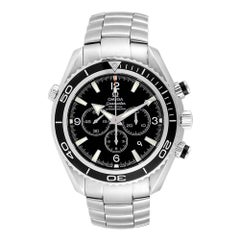 Omega Seamaster Planet Ocean Chronograph Watch 2210.50.00 Card