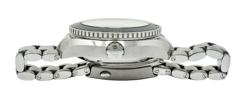 Omega Seamaster Planet Ocean Chronometer GMT Stainless Steel Men's Watch 6