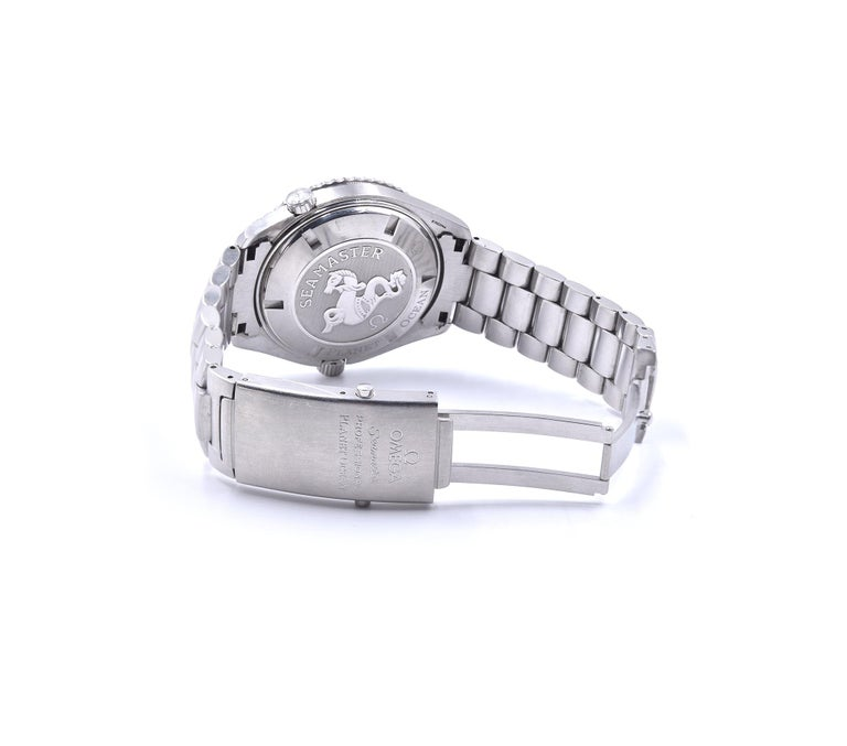 Men's Omega Seamaster Planet Ocean Co-Axial Stainless-Steel Watch Ref. 22005100 For Sale