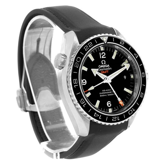 72ed0f4306bf9 Omega Seamaster Planet Ocean GMT 600m Watch 232.32.44.22.01.001 Box Card  For Sale at 1stdibs